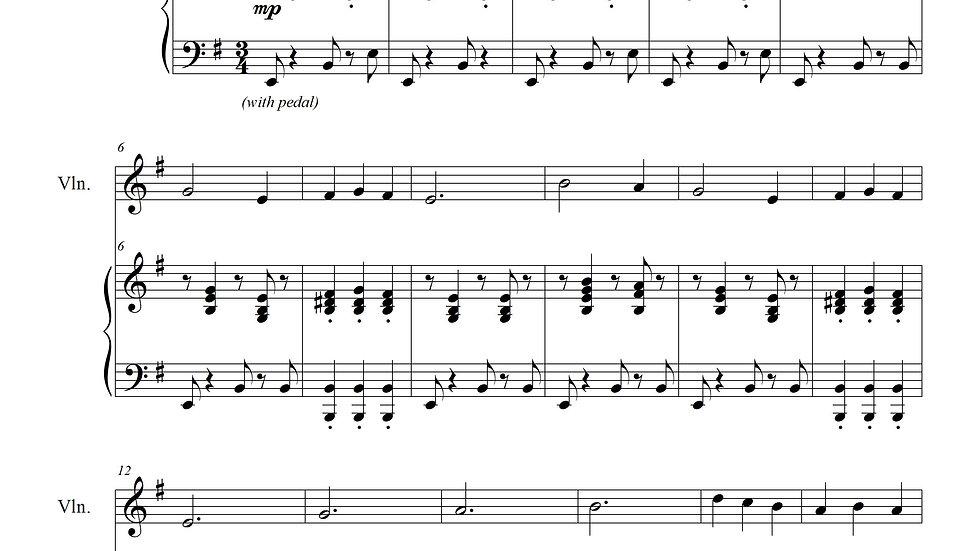 We Three Kings (Jazz Waltz for Piano & Violin)