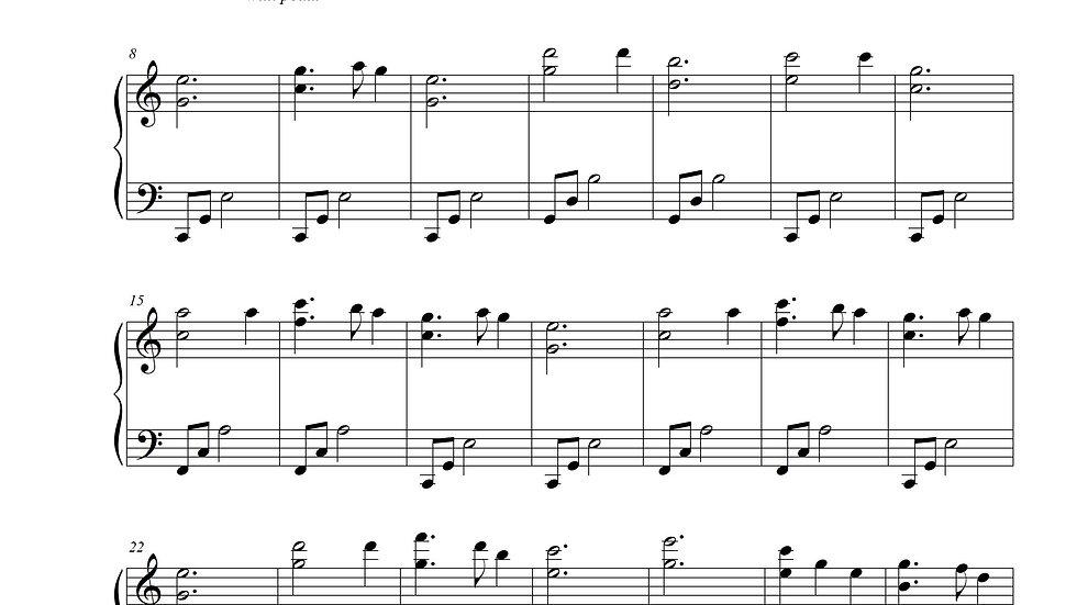 Silent Night (Intermediate Piano)
