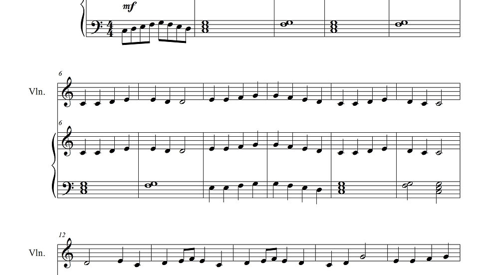 Ode to Joy (Piano and Violin)