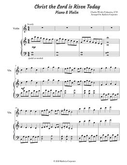 Christ the Lord Easy Piano Key of C Adva