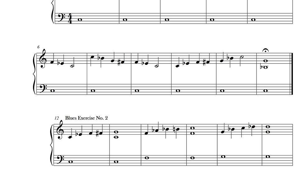 Blues Exercises No. 1-8