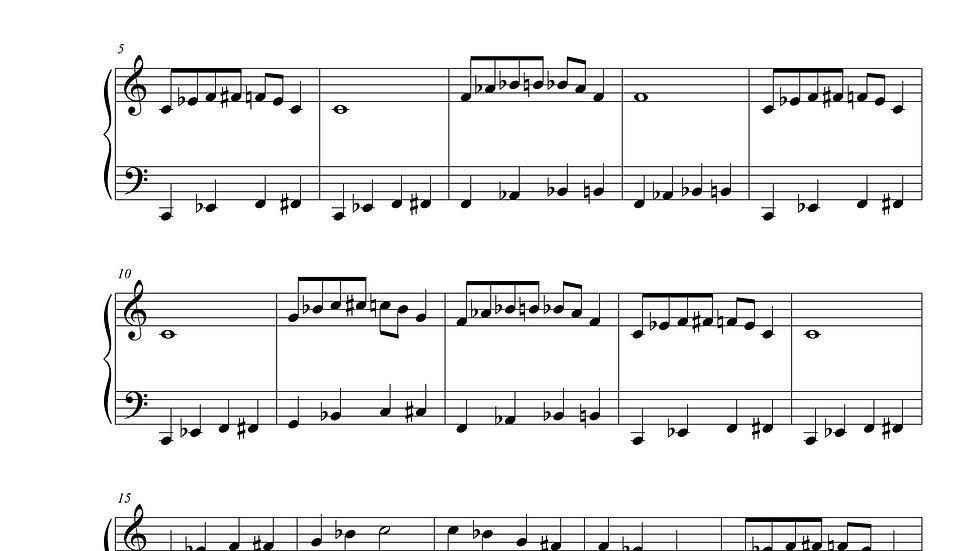 A Bluesy Day (Blues Piano)