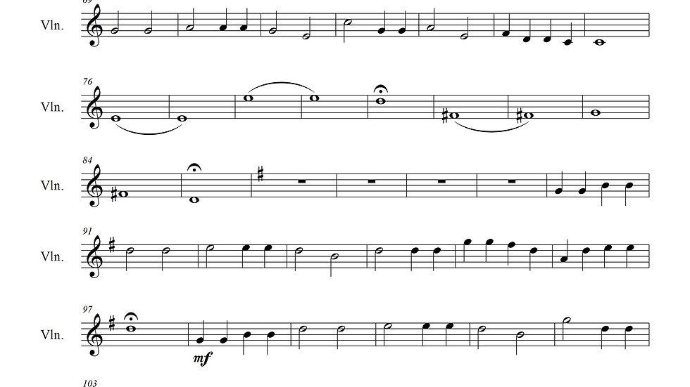 Holy, Holy, Holy (Piano & Violin)