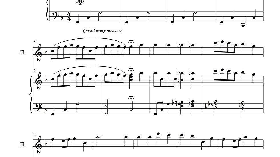 O Little Town of Bethlehem (Piano & Flute)