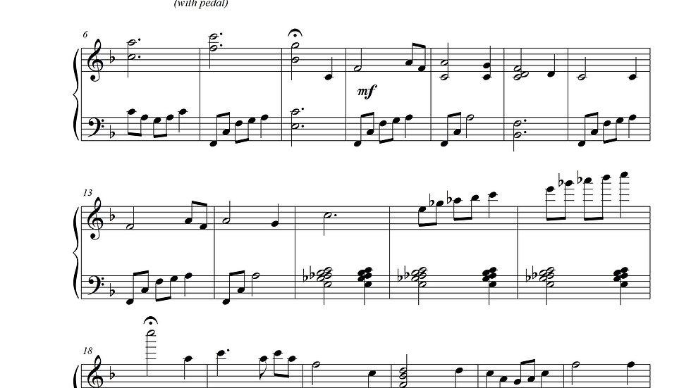 Amazing Grace (Advanced Piano)