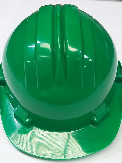 CASCO DE PROTECCION AJUSTABLE VERDE CLIMAX