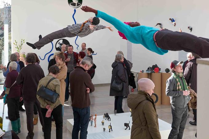 """Georg Kolbe Museum Berlin   """"Der Affe fällt nicht weit vom Stamm""""   23. 0.6. - 02.09.2018"""