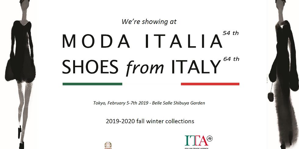 Moda Italia 54 th - Shoes from Italy 64 th