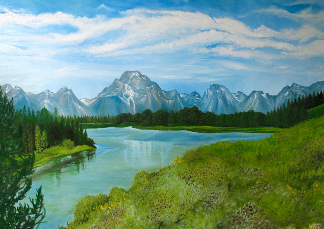 "Size: 30x40"" Medium: Oil Surface: Canvas  For sale."