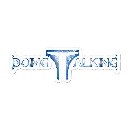 """Doing Talking"" Sticker"