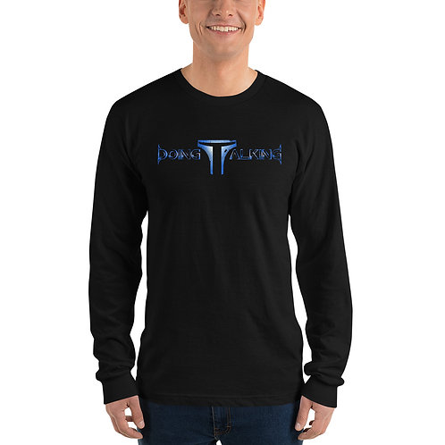 """Doing Talking"" Long sleeve T-Shirt"