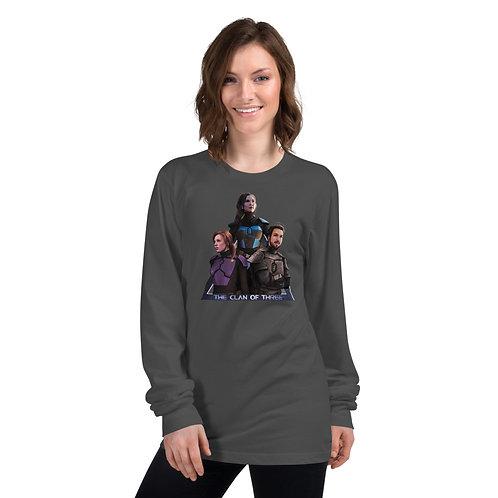 """The Clan of Three"" Long Sleeve T-Shirt"