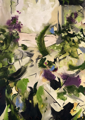 "Size: 40x40"" Medium: Oil Surface: Canvas  Commission."