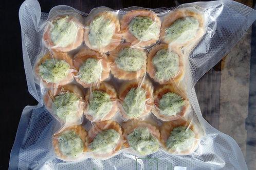 16 mini bouchées d'escargots