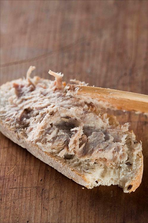 Rillettes de canard au foie gras - 200g