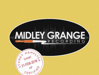 Midley Grange Recording: Stanky Hampster's preferred Recording Studio.