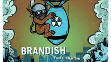 "[NEW VIDEO] Philly Punk Trio ""Brandish"" release new Music Video for ""Death Blossoms&q"