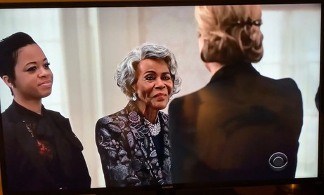 Madame Secretary with guest star Cicely Tyson and Shari Henry