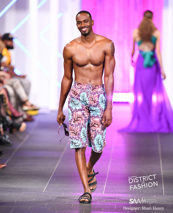 District of Fashion show at the Smithsonian