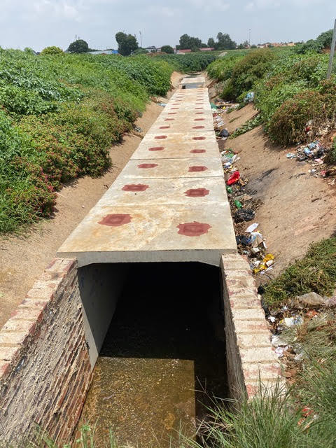 Protective Structure over the Sedibeng Stream