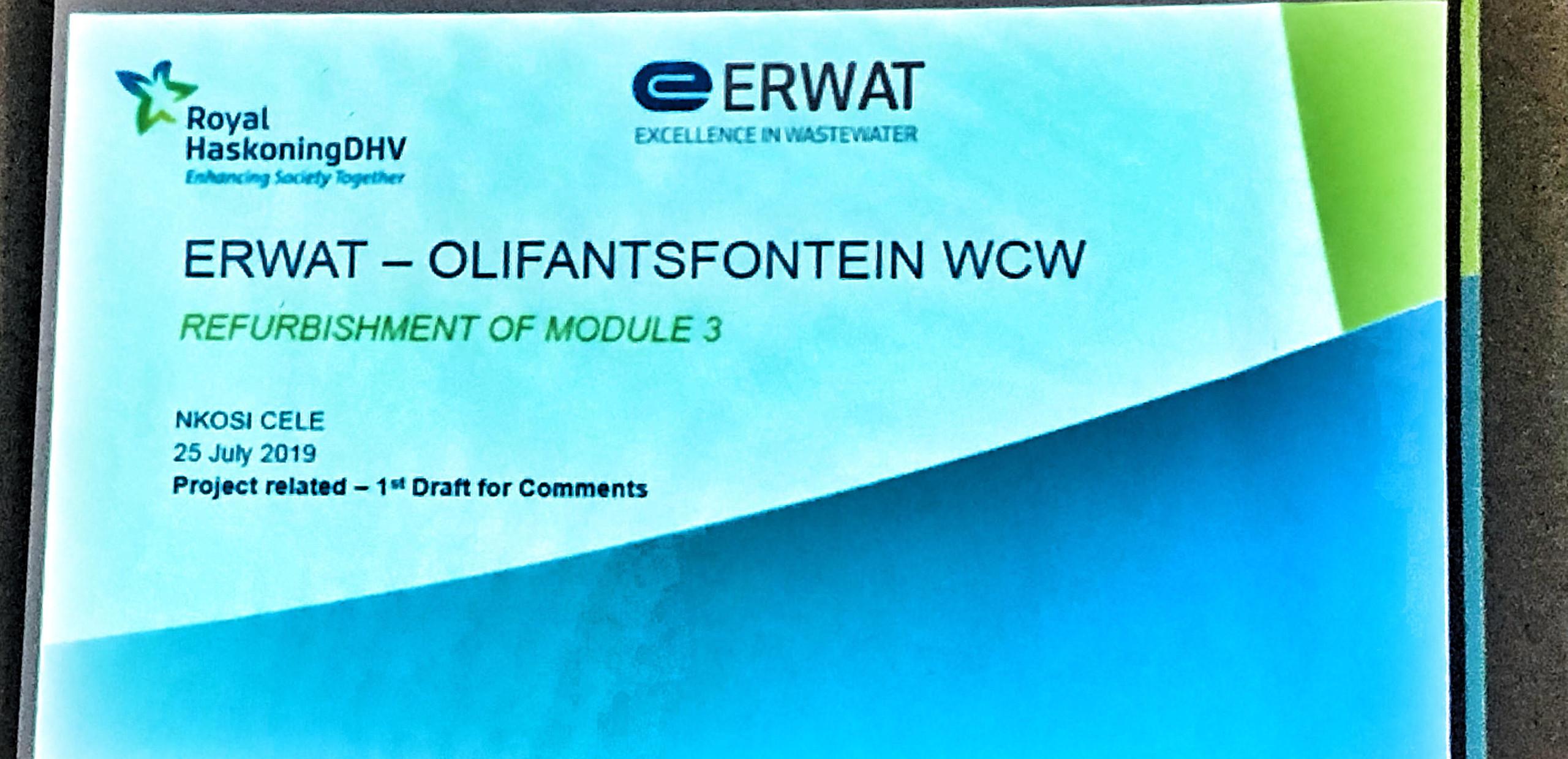 The Hennops River Forum - 30 July 2019 - ERWAT Report
