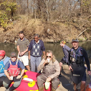 RESTORING THE HENNOPS – the 100km Big Walk/Paddle continues! Day 5