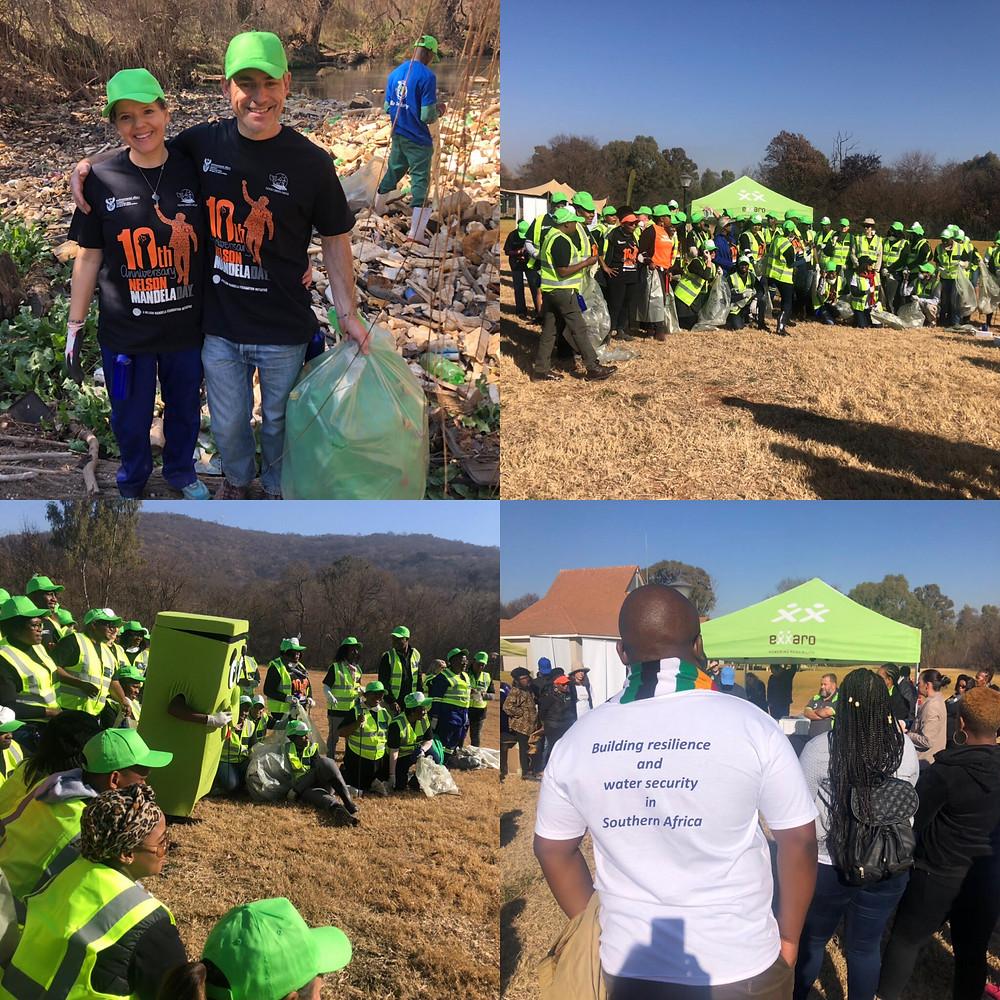 Mandela Day River Clean up with Exxaro 18 July 2019