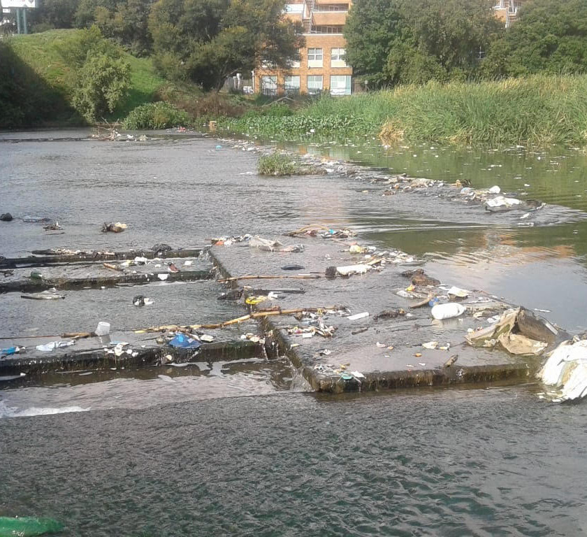 Some improvements along the Hennops River