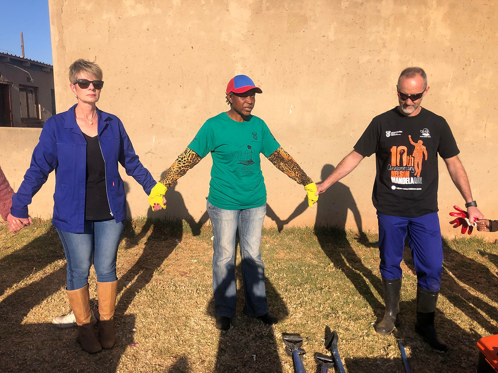 The power of river cleans - uniting hands and hearts in a moving prayer of consistency to bring environmental healing!