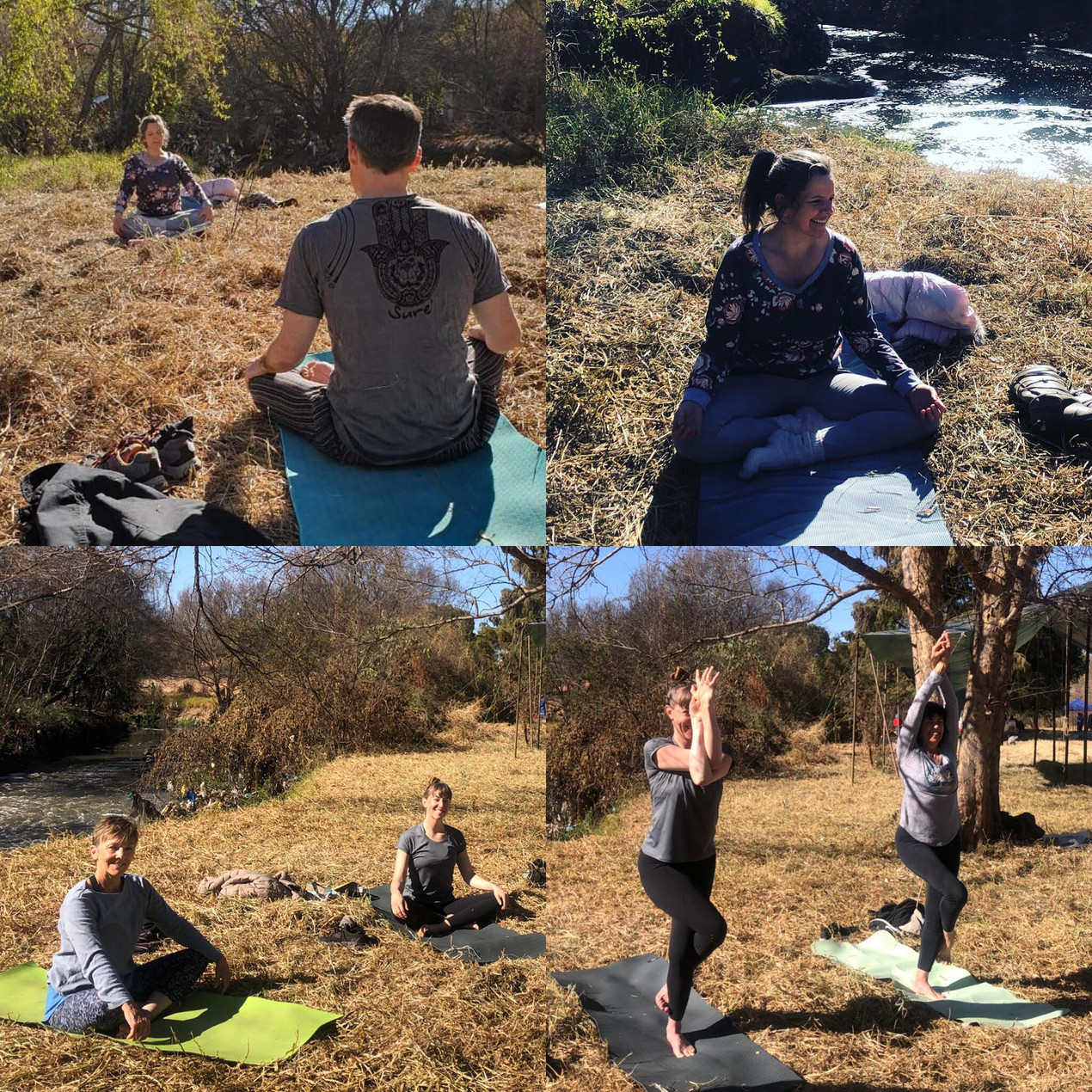 Katherine Fillmore of Hennops Blue Horizon presented an early morning Yoga session, leaving everyone invigorated and ready for the day