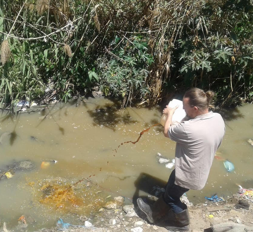 Hennops River Restoration and Clean Up Campaign - River cleanup and EM intreduced
