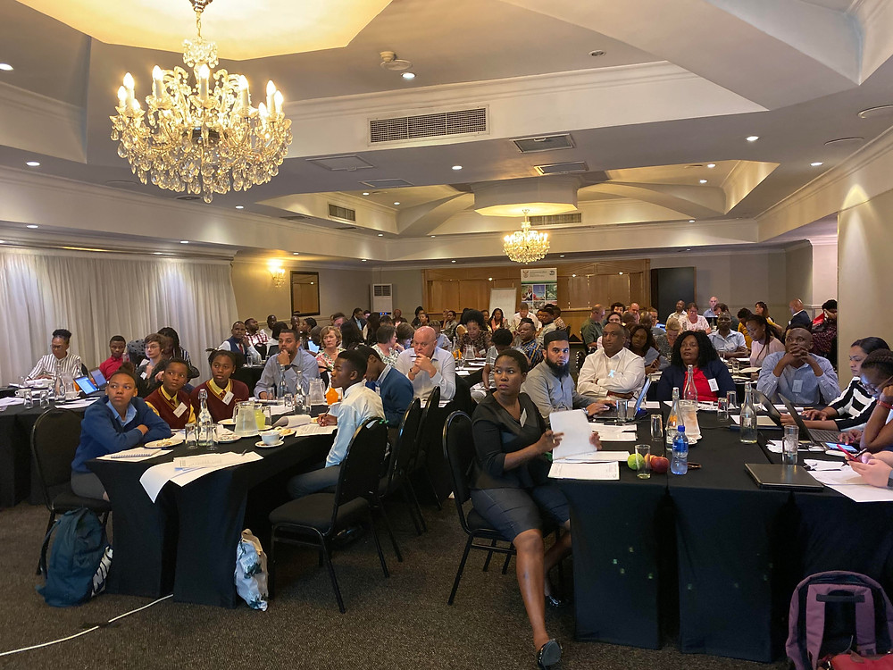 A super dynamic and progressive Visioning Workshop hosted by the Department of Environmental Affairs