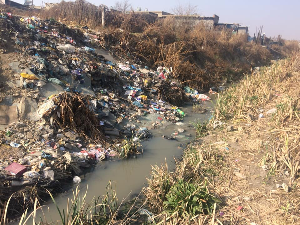 Kaalfontein Wet-land-grab the tragedy of our River sources.