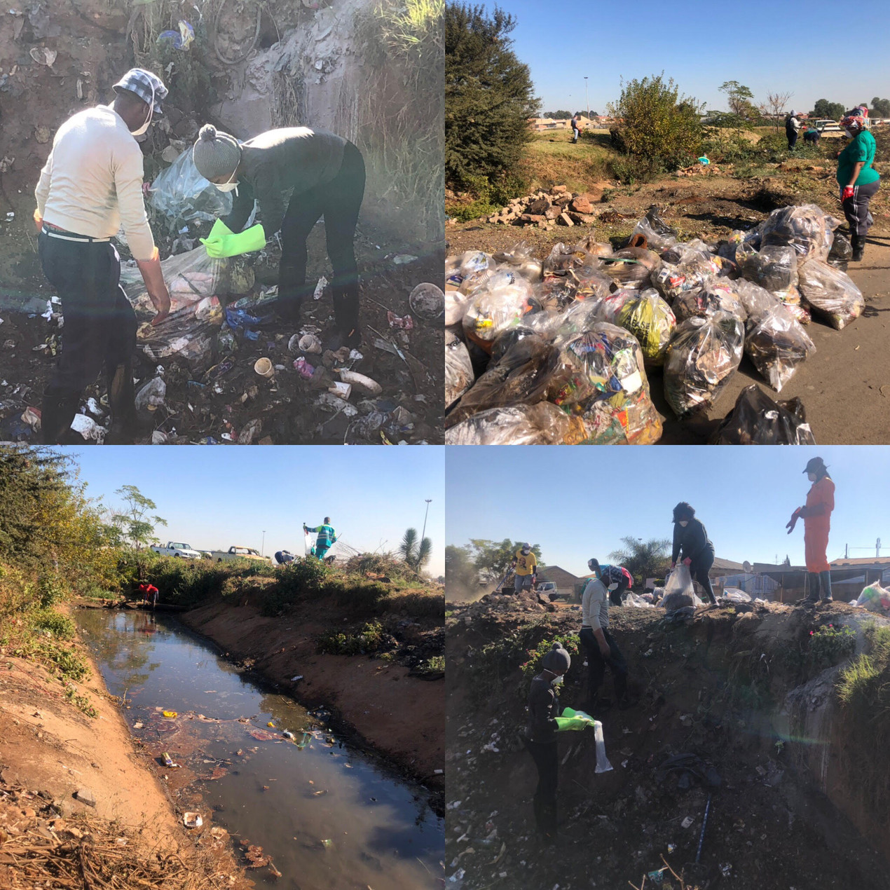 Ongoing struggle against waste and dumping