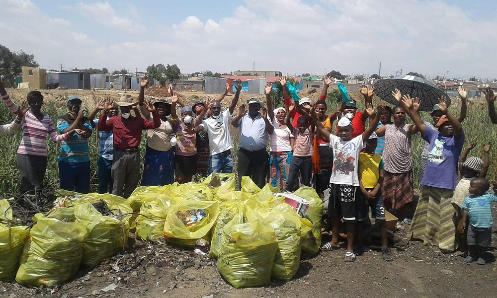 Hennops River Restoration and Clean Up Campaign - Community standing together