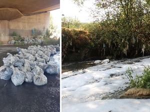 Hundreds of refuse bags filled in Hennops river clean-up