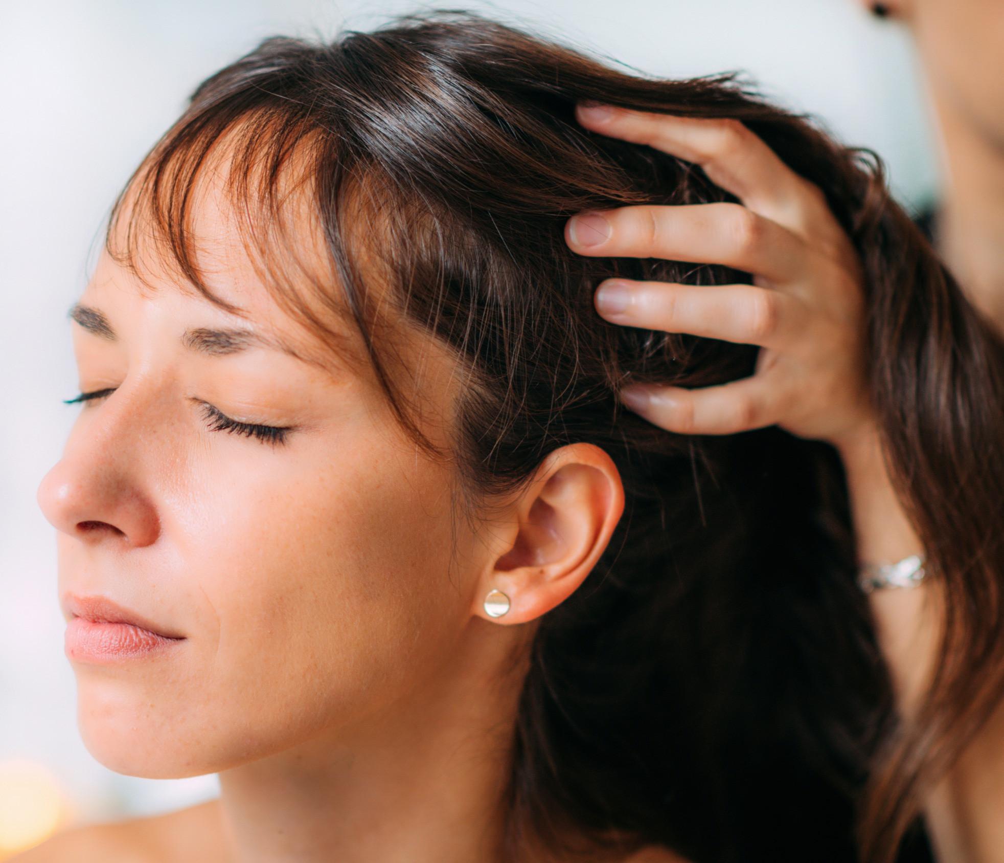 Indian Head Massage - seated