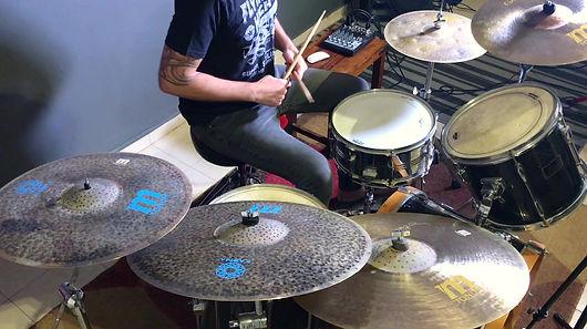My New Tonum Cymbals SetUp