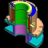 Tamar-tech gas sealing solution seal 610-AG, Tamar tech shaft seal, Mechanical seal, Packing seal, Eagleburgmann, John crane, gas shaft seal, shaft seal