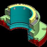 Tamar-tech powder shaft sealing solution seal 410-SF, Tamar tech shaft seal, Mechanical seal, Packing seal, Eagleburgmann, John crane, powder shaft seal, shaft seal