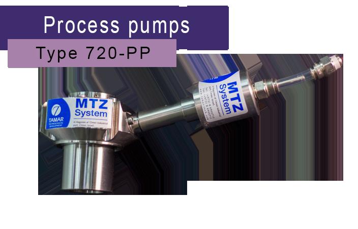 Tamar tech process pumps shaft seal