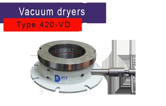 Tamar vacuum dryer powder shaft seal