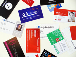 Zignmedia, visittkort, print