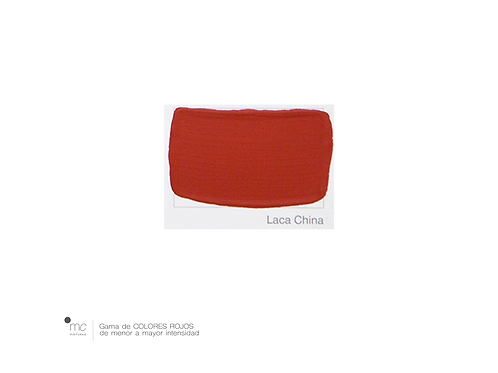 LACA CHINA - ROJOS