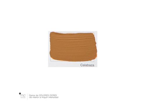 CALABAZA - OCRES & AMARILLOS
