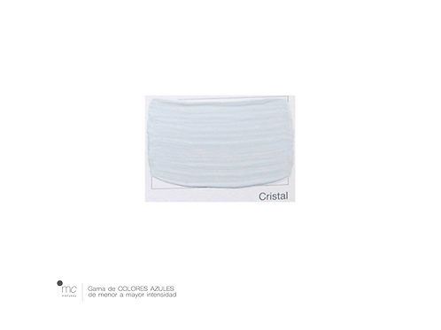 CRISTAL - AZULES