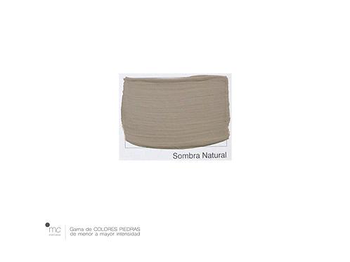 SOMBRA NATURAL - PIEDRAS