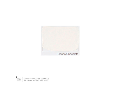 CHOCOLATE - BLANCOS