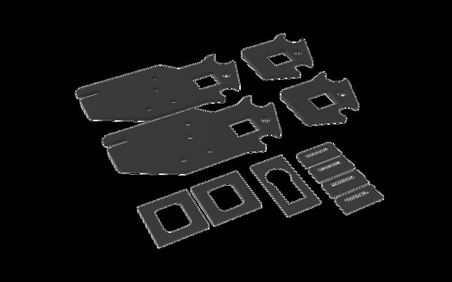 2nd/3rd Gen Tacoma DIY Rear Bumper Build Parts