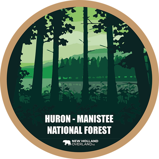Huron-Manistee National Forest Sticker